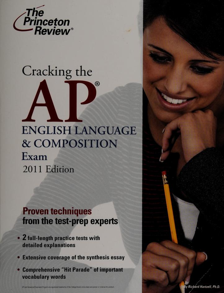 Cracking the AP English language & composition exam by Richard A. Hartzell
