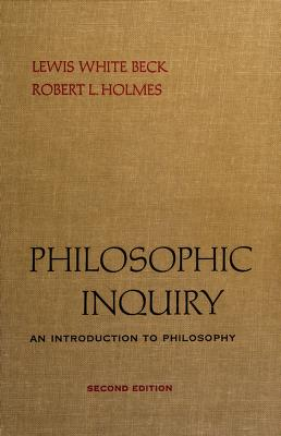 Cover of: Philosophic inquiry | Lewis White Beck